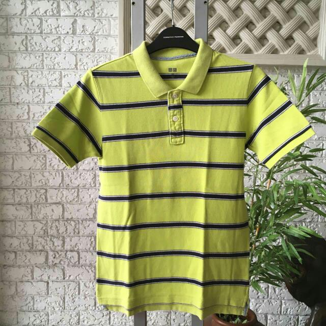 Uniqlo Polo Shirt Size 150 8 - 9 Years