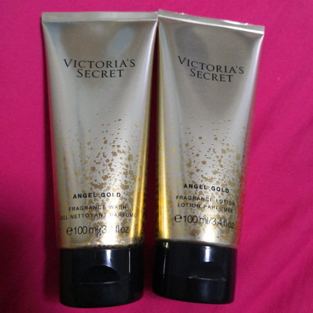 0ffc2dc110b27 Victoria's Secret Fragrance Angel Gold Lotion and Wah