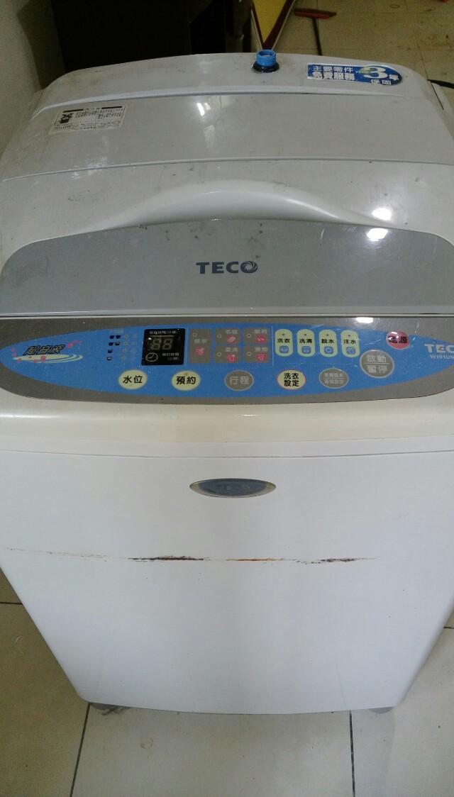 東元洗衣機w101un