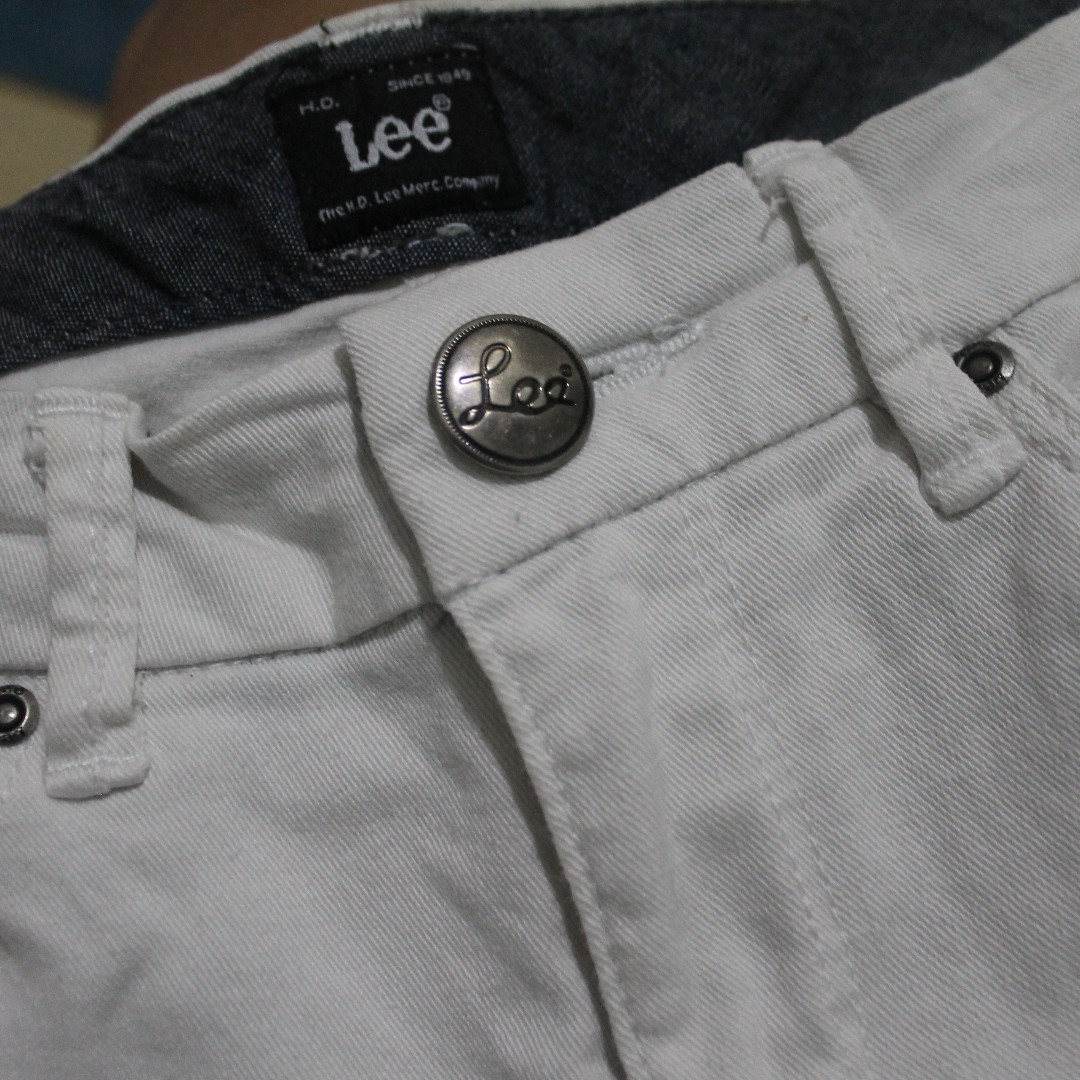 White Jeans Lee Cooper