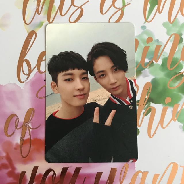 WonHan Going Seventeen Official Photocard