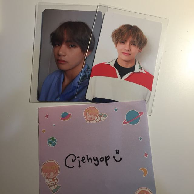 [WTS] BTS LOVE YOURSELF PHOTOCARDS