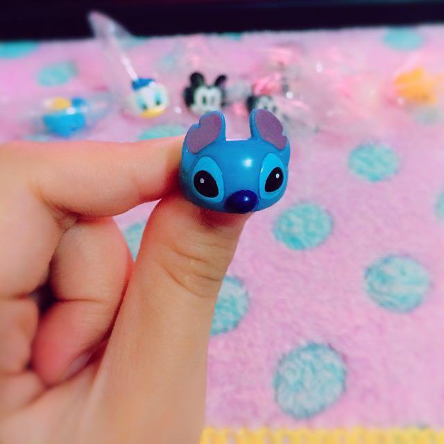 YUJIN 日本Disney 絕版稀有卡通系列戒指