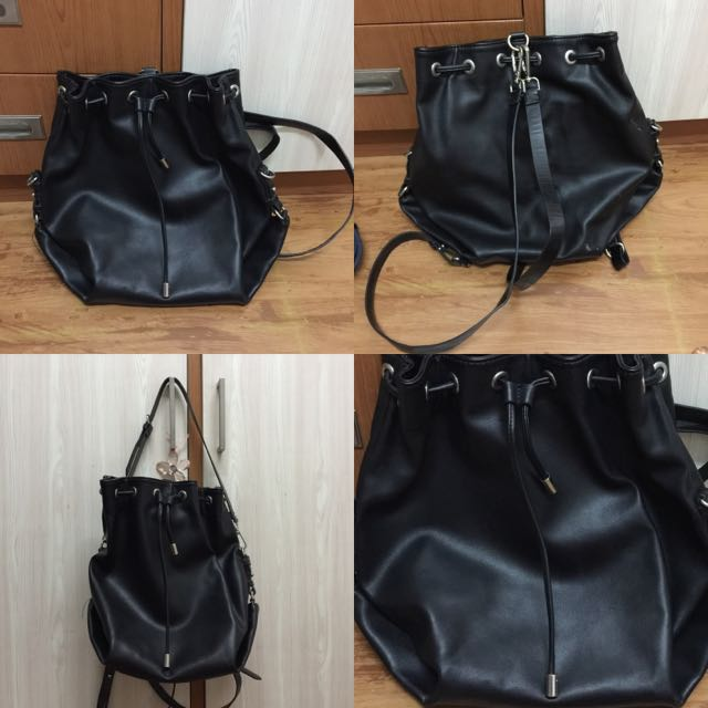 ZARA Double Strap Bag (Backpack & Handbag)