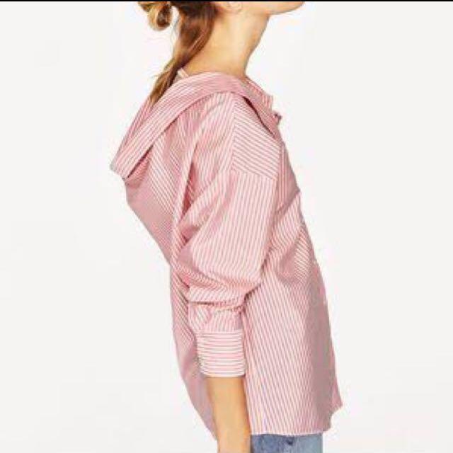 Zara stripe Blouse/Shirt