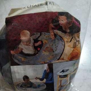 BN Baby Chair Dining Mat (Grey)