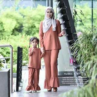 Free pos Luna Suit mommy & gegirl set 💕