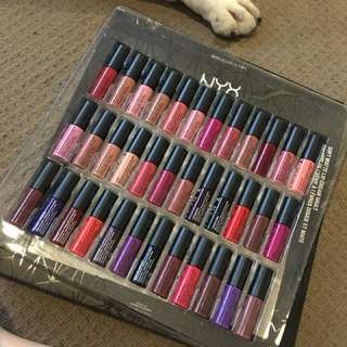 Nyx soft matte lip cream pack
