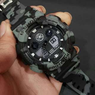Jam tangan pria g shock ga 100