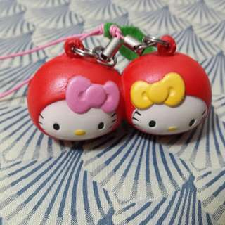 Sanrio Kitty車厘子掛飾