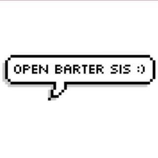 💕 OPEN BARTER 💕