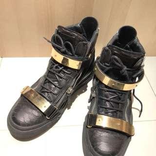 Giuseppe Zanotti python sneakers size 43