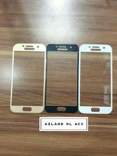 TEMPER GLASS SAMSUNG A3 2017 FULL COVER (WARNA)