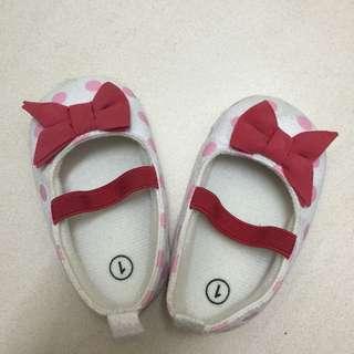 Baby Girl Prewalker Shoes