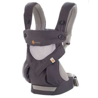 Ergo Baby 360 Cool Air Four Position baby carrier : Carbon Grey