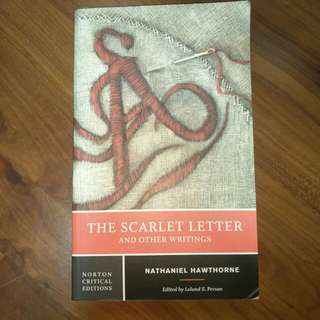 The Scarlet Letter by Nathaniel Hawthrone