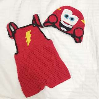 CARS Mc Queen costume 6 to 12 months