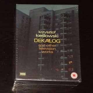全新 Dekalog 十誡 Blu ray + DVD / 奇斯洛夫斯基 Krzysztof Kieślowski