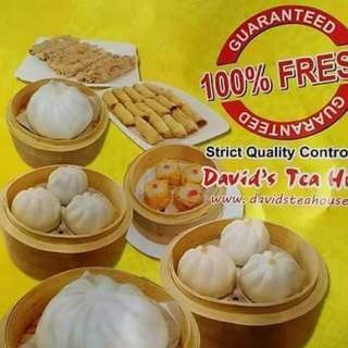 Davids tea house dimsum