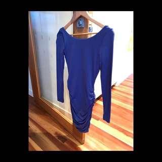 Kookai Scrunch Nylon Dress size 1