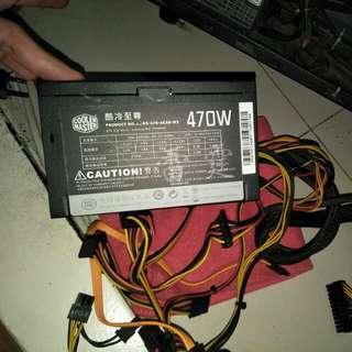 Cooler master 470w power supply