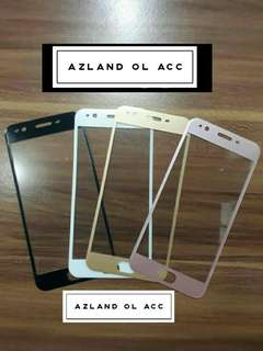 TEMPER GLASS OPPO F1 PLUS FULL COVER (WARNA)