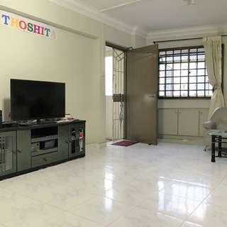 371 WOODLANDS HDB 4 ROOM FOR RENT, MRT, HIGH FLOOR, CORNER