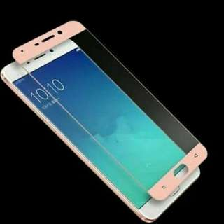 TEMPER GLASS OPPO A59 FULL COVER (WARNA)
