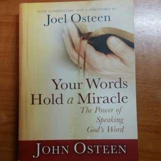 Your Words Hold a Miracle - Joel Osteen