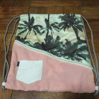 Palm tree gym sack