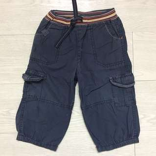 Mothercare pull up cuffed pants