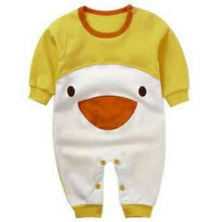 Duck Baby Long-sleeved Jumpsuit
