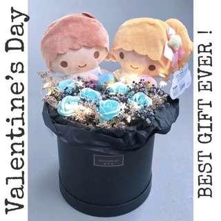 ❤️Valentine's Day hat box Bouquet