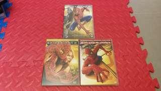 蜘蛛俠DVD 3盒
