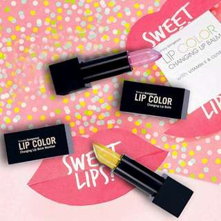 INSTOCK SIMPLY GORGEOUS LIP COLOUR CHANGING LIPBALM BY SENDAYU TINGGI