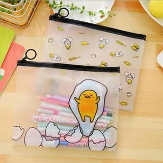 [PO] Gudetama Transparent Pencil Case