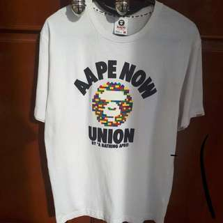 aape now union tee