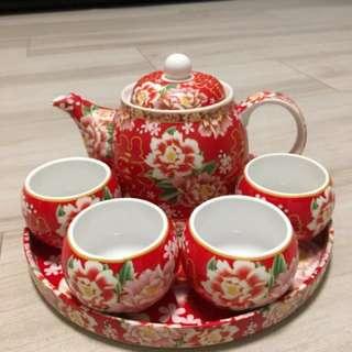 結婚用品 茶具set 茶杯