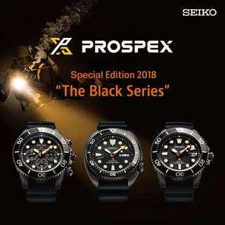 seiko prospex 黑魂