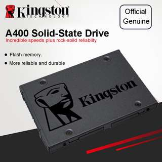🚚 Kingston A400 SSD 120GB A400 SATA 3 2.5 inch Internal Solid State Drive HDD Hard Disk For Notebook PC