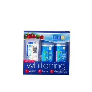 Hada labo whitening trial set
