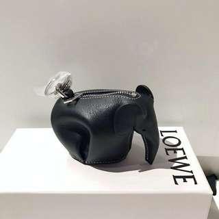 🆕LOEWE Elephant Coin bag / Coin purse black colour (Original Price $3400)