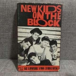 arthcs NEW KIDS ON THE BLOCK I'll Be Loving You (Forever) USA Press Cassette Tape Single