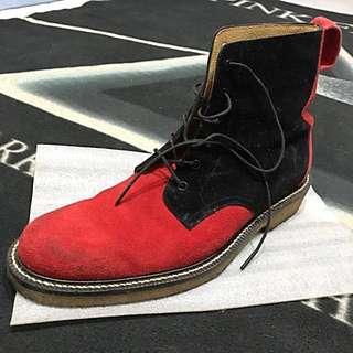 🚚 Dry Bones硬漢麂皮靴 附鞋盒
