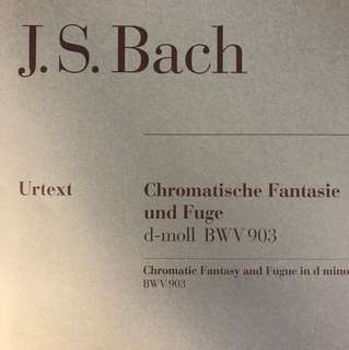 Bach: Chromatic Fantasy