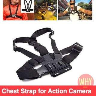 Chest Shoulder body Belt Strap for GOPRO EKEN SJCAM YICAM
