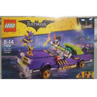 Lego The Batman Movie Joker Notorious Lowrider (70906)