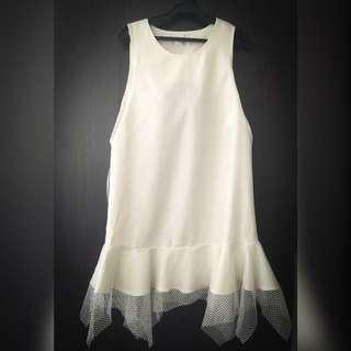 White Stylish Dress