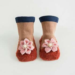 3D Baby Socks -flower