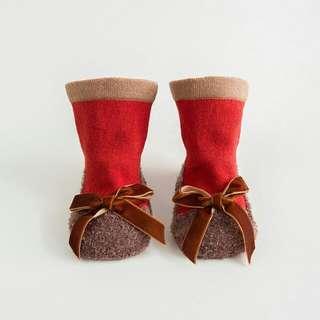 3D Baby Socks -love tie